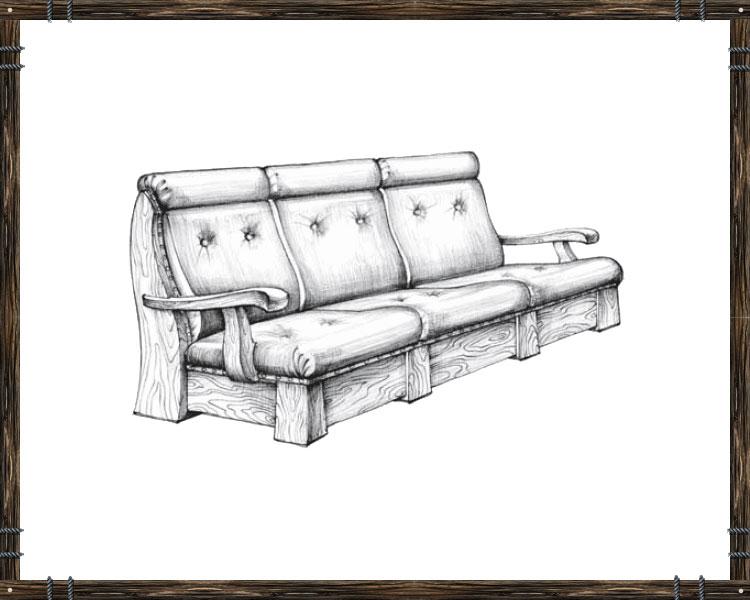 Диван софа из дерева чертежи и ход работы